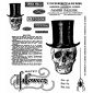 Tim Holtz Cling Mount Stamps - Undertaker CMS240