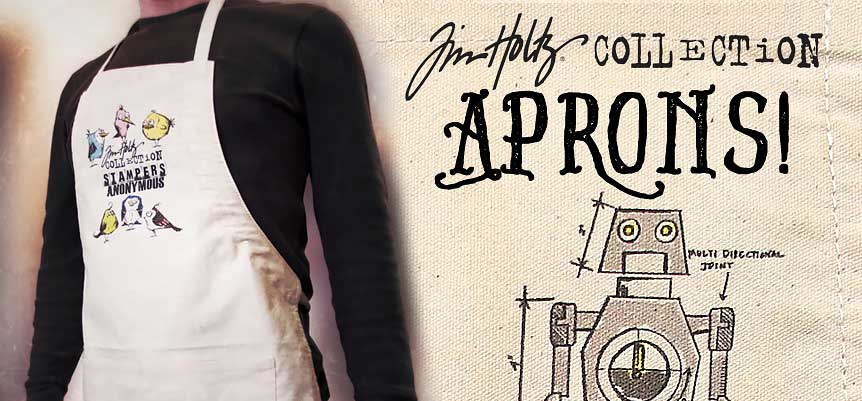 Tim Holtz Stampers Anonymous Craft Aprons