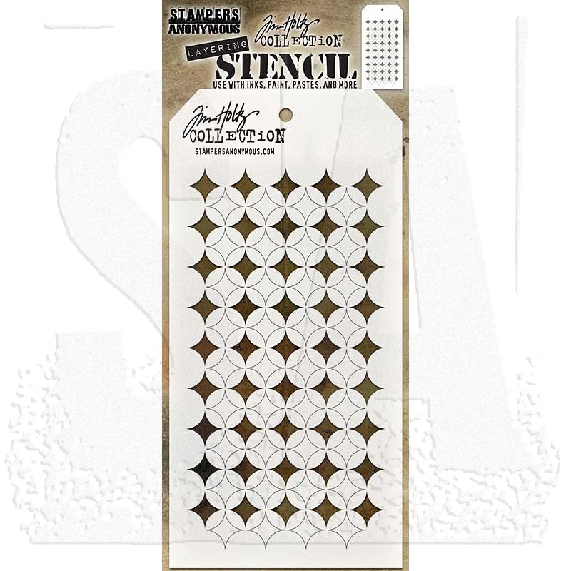 Tim Holtz Layering Stencil Shifter BURST Stencil THS120 Stampers Anonymous