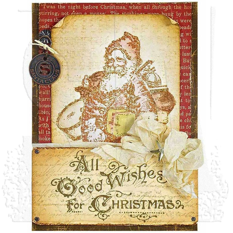 tim holtz old fashioned christmas cms175