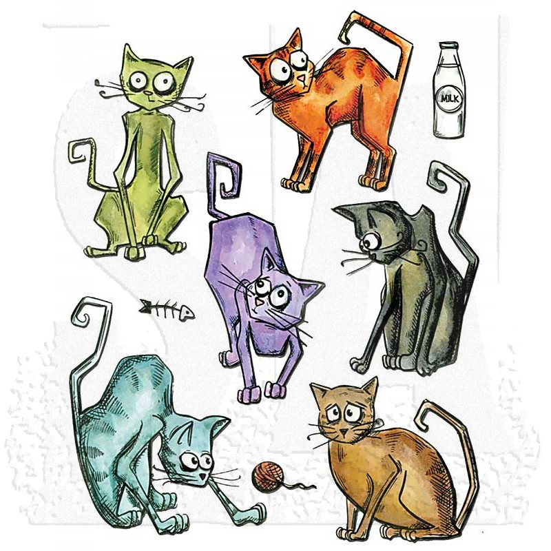 Image result for crazy cats tim holtz