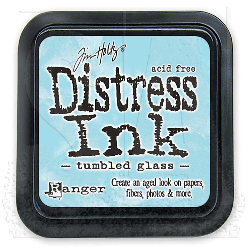 Image result for distress inks tumbled glass