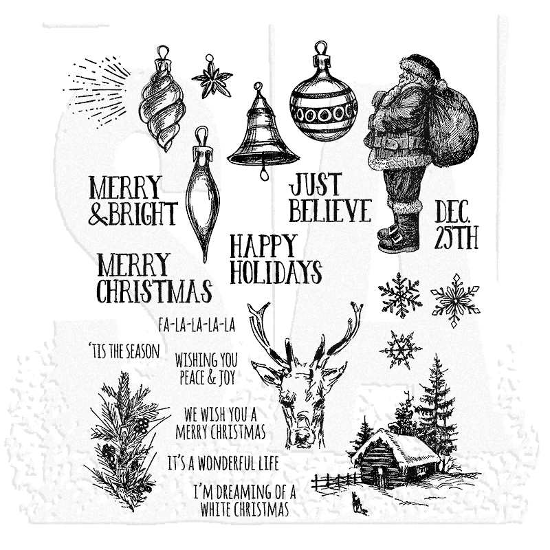 Tim Holtz Cling Mount Stamps