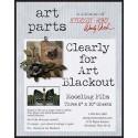 Studio 490 Wendy Vecchi - Clearly for Art Blackout WVAPCLRBLK