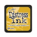 Tim Holtz Mini Distress Ink Pad: Fossilized Amber - TDP46783