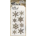 Tim Holtz Layering Stencil - Snowflakes THS050