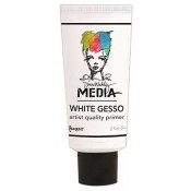 Dina Wakley Media White Gesso, 2 oz. Tube - MDM41672