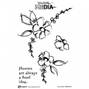 Dina Wakley Cling Mount Stamps: Good Idea MDR66231