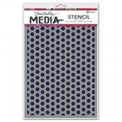 Dina Wakley Media Stencil: Spaced Dots MDS52432