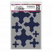 Dina Wakley Media Stencil: Large Medieval Crosses MDS68242