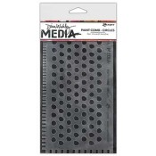 Dina Wakley Media Paint Comb - Circles MDA47667