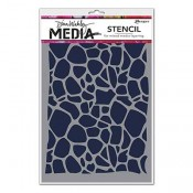Dina Wakley Media Stencil: Cellular MDS54429