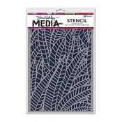 Dina Wakley Media Stencil: Jungle MDS47490