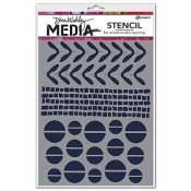 Dina Wakley Media Stencil: Mini Favorites - MDS49913