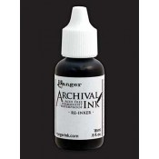 Dylusions Archival Ink Reinker - Black Marble ARD51176