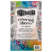 Dylusions Coloring Sheets DYA48428