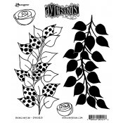 Dylusions Cling Mount Stamps - Branching Out DYR51213