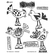 Dylusions Cling Mount Stamps: Put A Bird On It DYR51251