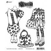 Dylusions Cling Mount Stamps - These Boots Are Made DYR51275
