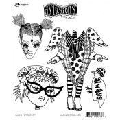 Dylusions Cling Mount Stamps - Always DYR53637