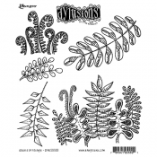 Dylusions Cling Mount Stamps - Oodles of Foliage DYR55501