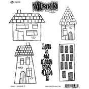 Dylusions Cling Mount Stamps - Home DYR64671