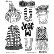 Dylusions Cling Mount Stamps: Just Be DYR76797