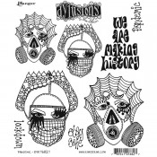 Dylusions Cling Mount Stamps: Pandemic DYR76827
