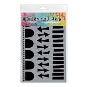 Dylusions Small Stencil: Arrow Border - DYS47179