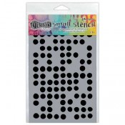 Dylusions Small Stencil: Fresh Dots - DYS52364