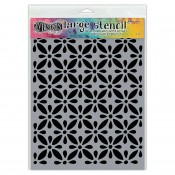 Dylusions Large Stencil: Quilts DYS68709