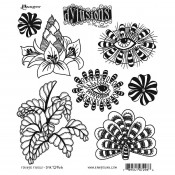Dylusions Cling Mount Stamps: Foliage Fillers DYR72966