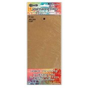 Dylusions Journaling Tags: #10 Kraft DYA47797