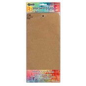 Dylusions Journaling Tags: #12 Kraft DYA47810