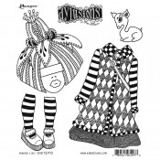 Dylusions Cling Mount Stamps: Maisie Lilly DYR72973
