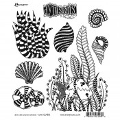 Dylusions Cling Mount Stamps: She Sells Sea Shells DYR72980