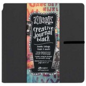 Dylusions Square Black Journal - DYJ45557