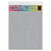 Dylusions Stencil Silhouettes: Otis DYS75363