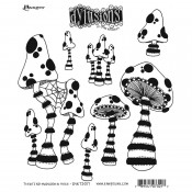 Dylusions Cling Mount Stamps: There's Not Mushroom in Here DYR73017