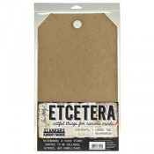 Tim Holtz Etcetera Large Tag Thickboards - THETC-001