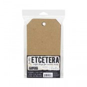 Tim Holtz Etcetera Mini Tag Thickboards THETC-004