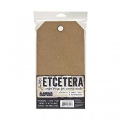 Tim Holtz Etcetera Small Tag Thickboards THETC-003
