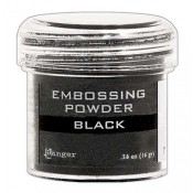 Ranger Embossing Powder, Black - EPJ37347