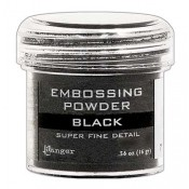 Ranger Embossing Powder, Super Fine Black - EPJ37392