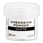 Ranger Embossing Powder, White - EPJ36685