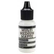 Ranger Matte Medium 0.5 oz. Bottle - INK41511