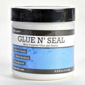 Ranger Glue n' Seal 4 oz Jar - INK44994