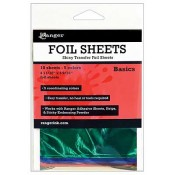 Ranger Shiny Transfer Foil Sheets, Basics - ISF40552