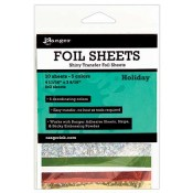 Ranger Shiny Transfer Foil Sheets - Holiday ISF48015
