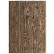 Sizzix 3-D Texture Fades Embossing Folder: Lumber 662718